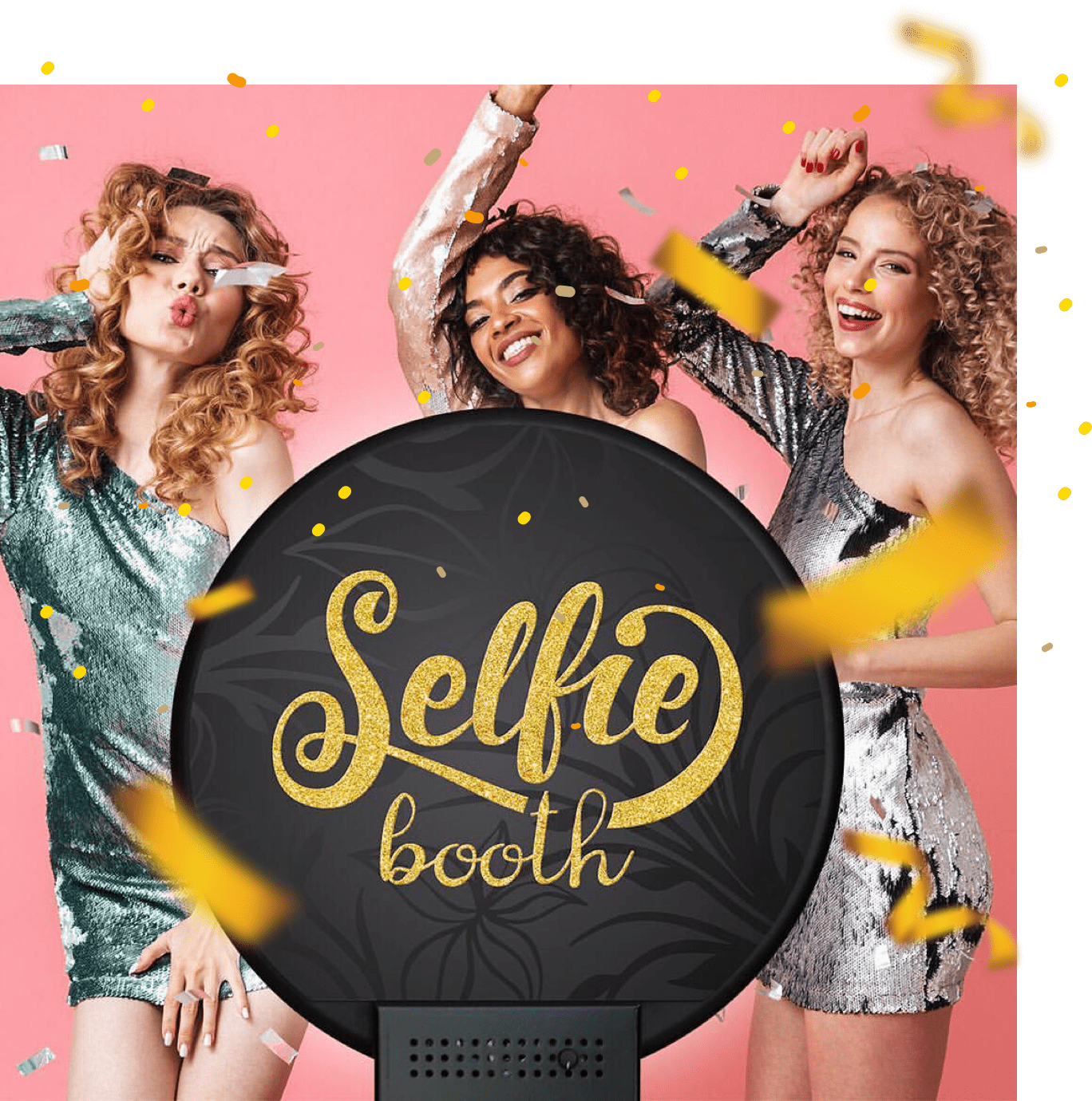 Selfie Booth Glam